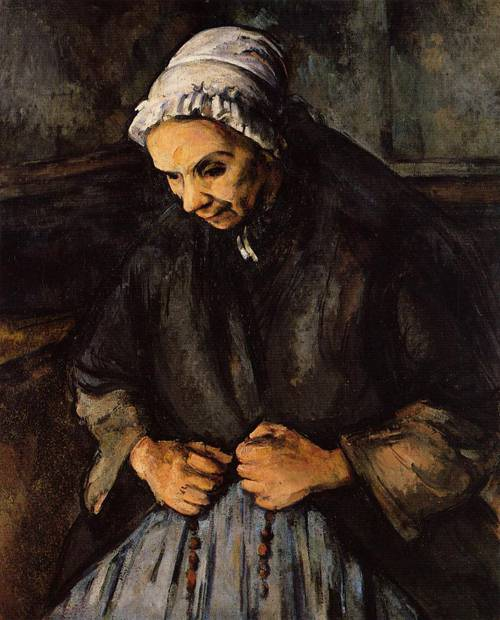Paul Cezanne - Old Woman with Rosary
