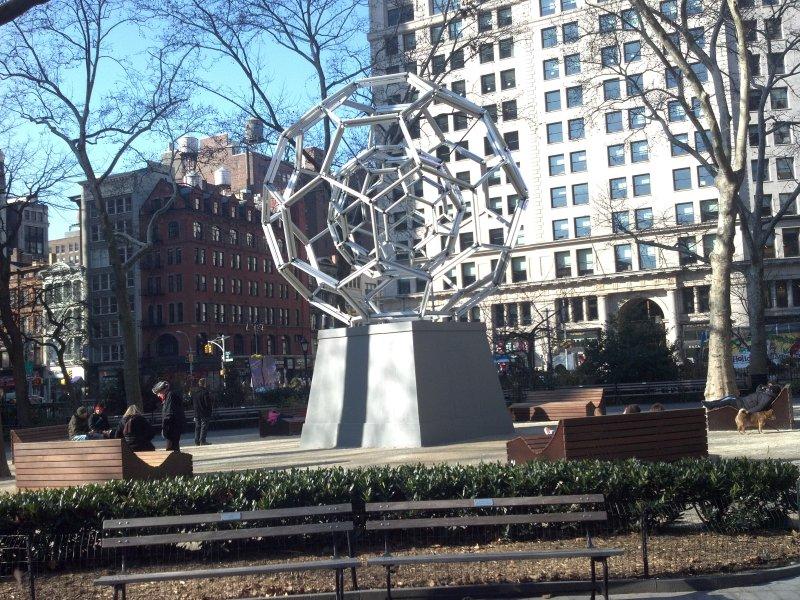 Bucky Ball Sculpture