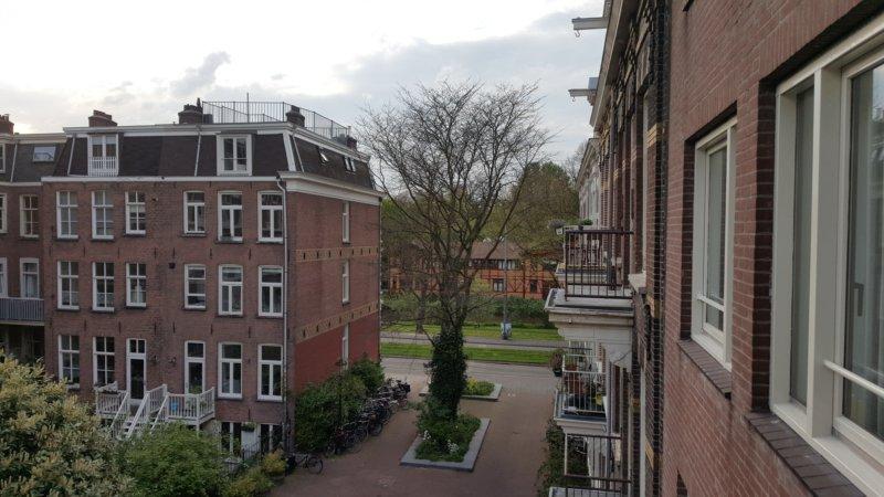 Towards Sarphatistraat (WNW)