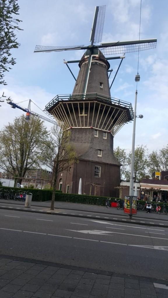 Windmill on Zeeburgerstraat