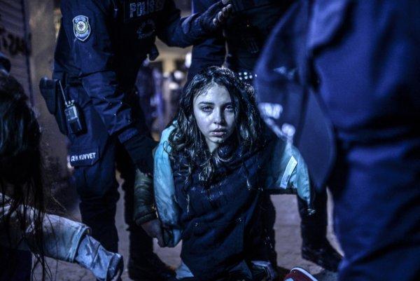 Istanbul Protest - Bulent Kilic
