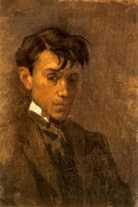 picasso-self-portrait-uncombed-hair