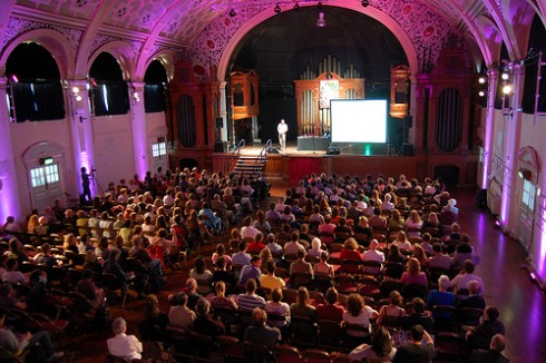 Battersea Arts Centre, the Great Hall, before the fire